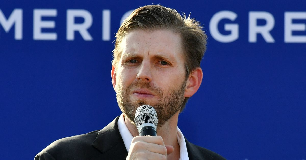 Eric Trump Puzzles Everyone With His 'Pathetic' Second Gentleman Tweet