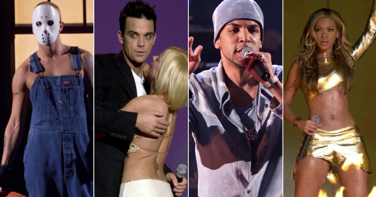 Revisit The Action-Packed And Chaotic 2001 Brit Awards, 20 Years On