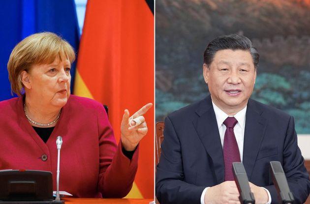 Angela Merkel, Xi