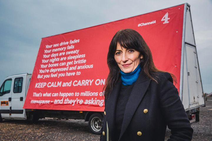 """""""I get very, very angry when we can't make a decision about our bodies,"""" says Davina McCall."""