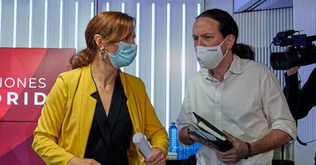 Mónica García y Pablo