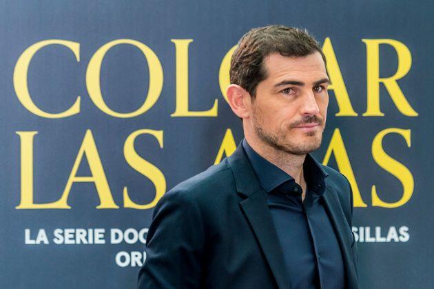 Casillas, en la presentación de su