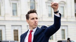 Josh Hawley Says He Doesn't Know If He Saluted Any Rioters, So We