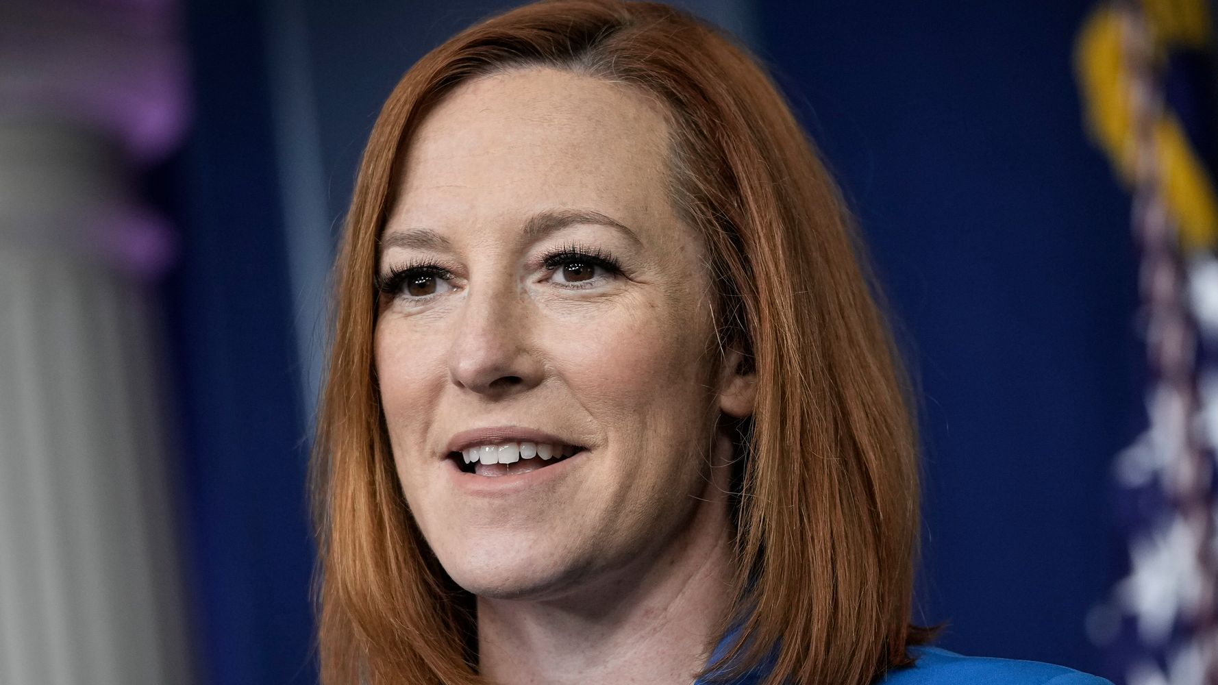 Newsmax Reporter Tries Trump's 'People Are Saying' Line. Jen Psaki Isn't Having It.
