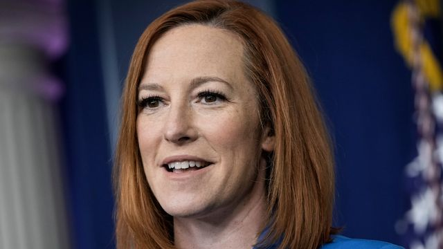 Newsmax Reporter Tries Trump's 'People Are Saying' Logic. Jen Psaki Isn't Having It..jpg
