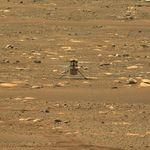 La Nasa a réussi à enregistrer le son de son hélicoptère sur Mars,