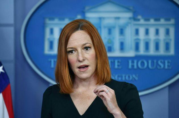 ホワイトハウスのジェン・サキ報道官