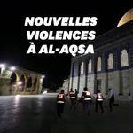 Plus de 180 blessés dans des heurts entre Palestiniens et policiers israéliens à