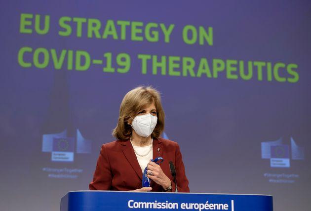 Βρυξέλλες 6 Μαϊού 2021 Η επίτροπος...