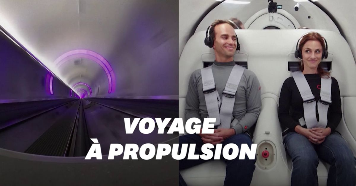 Voilà à quoi pourraient ressembler les voyages dans les trains supersoniques