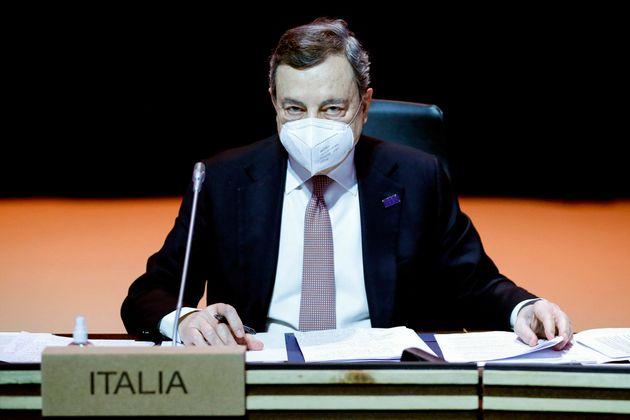 Italy's Prime Minister Mario