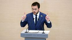 Aragonès propone un Govern en solitario