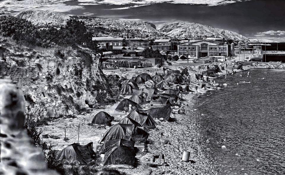 Souda Camp, Chios Island, Greece, 2017 MOCAK Collection,