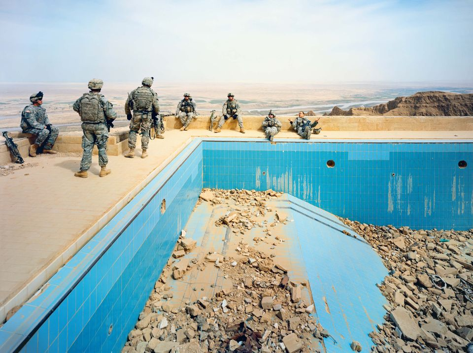 Pool at Uday's Palace, Salah-a-Din Province, Iraq, 2009 Courtesy of the artist and Jack Shainman Gallery,...