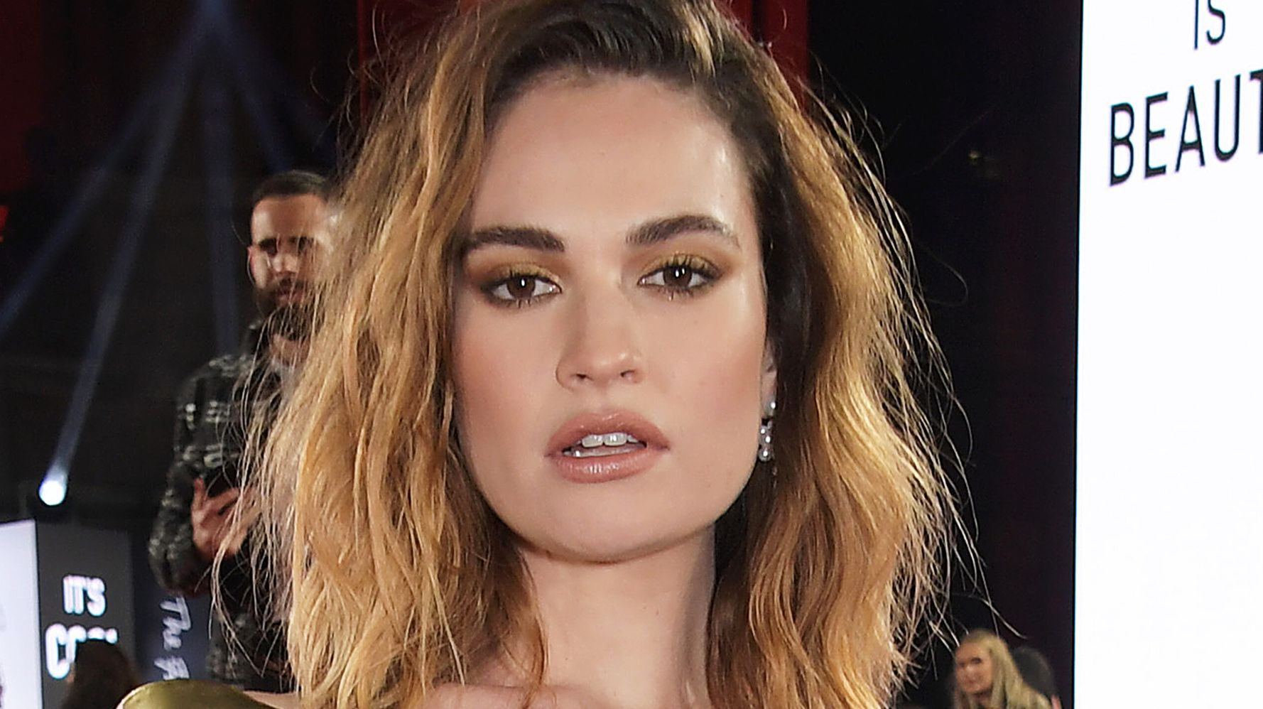 Lily James Is Utterly Unrecognizable As Pamela Anderson For New Role