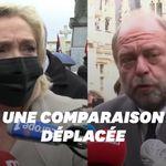La remarque douteuse de Marine Le Pen après la candidature d'Éric Dupond-Moretti aux