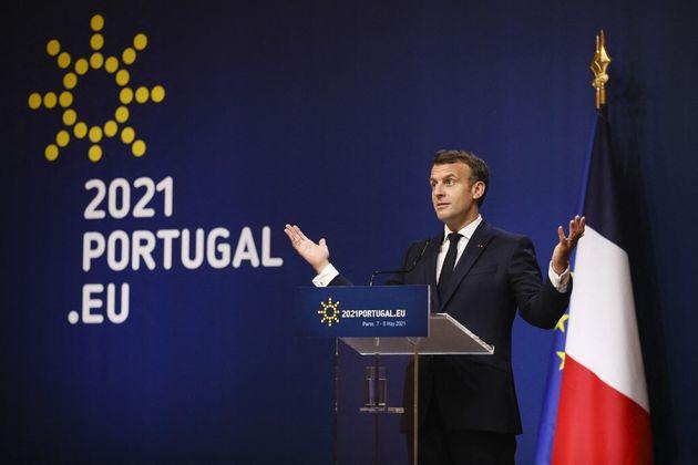 Pourquoi la France s'agace de la comparaison Union européenne - États-Unis (photo d'Emmanuel...