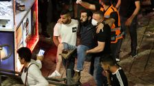 Beefed-up Israel Police Confront Palestinians In Jerusalem On Ramadan Holy Night