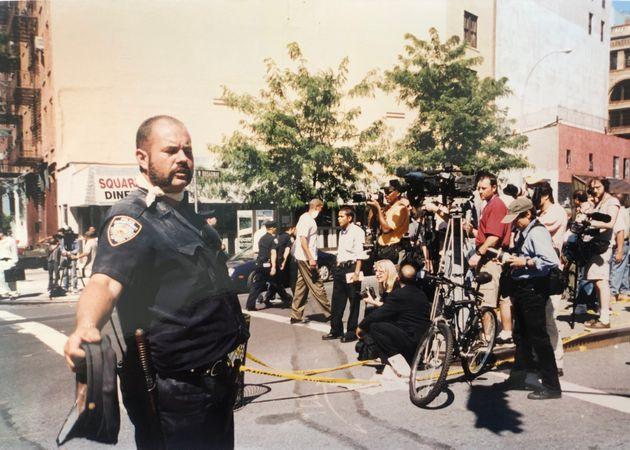 911テロで崩壊したワールドトレードセンターの近くのダイナー