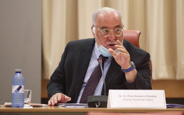 El director general de Tráfico, Pere Navarro, en una