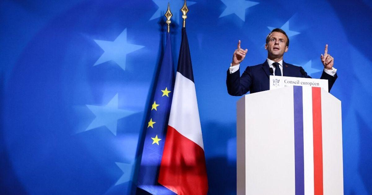 La double stratégie de Macron qui va jouer le sauveteur de l'Europe à Bruxelles