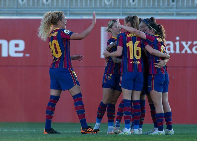 Jugadoras del Barcelona