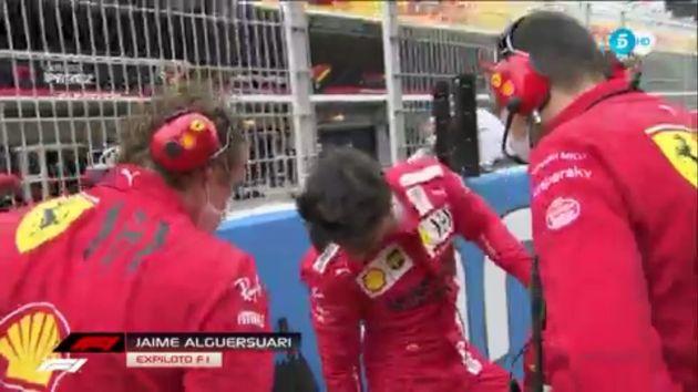 Primera retransmisión de Formula 1 en Telecinco en 13