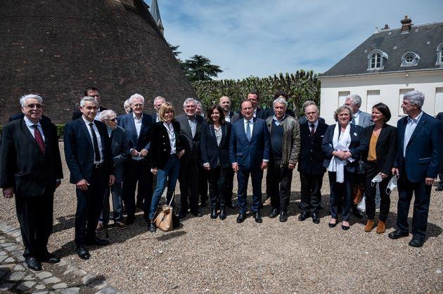 Francois Hollande, Lionel Jospin, Anne Hidalgo... Pour les 40 ans de son élection, la Mitterandie se...