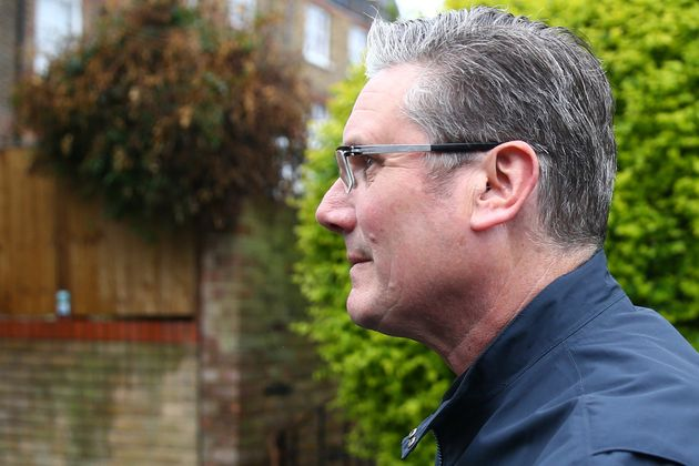 Starmer leaves home on Saturday