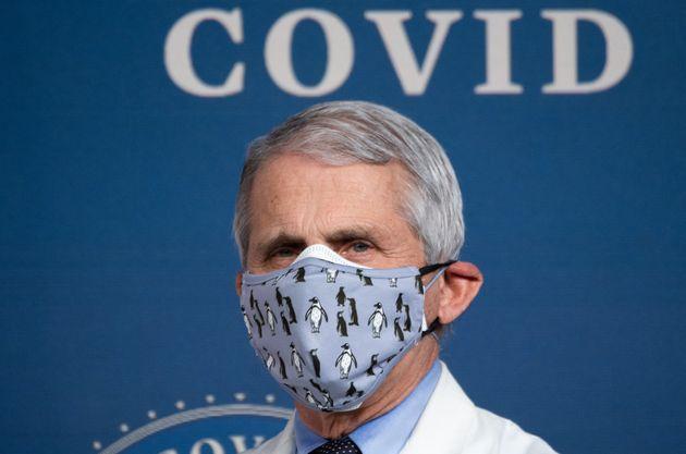 Le Dr Anthony Fauci, ici à la Maison Blanche à Washington, le 25 février