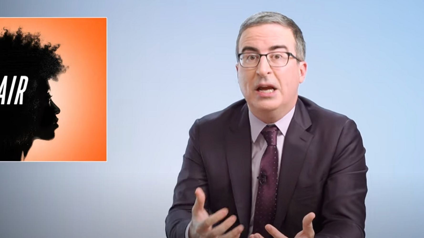 John Oliver: Hey, White People, Leave Black Hair Alone