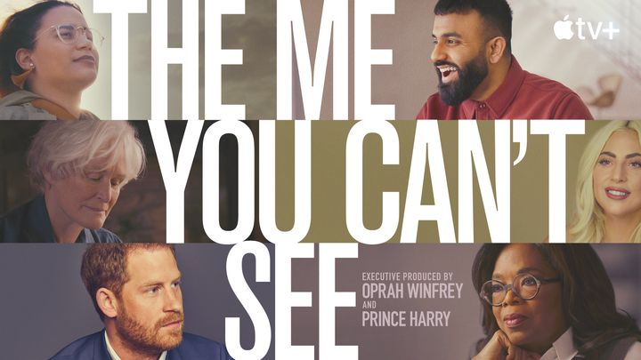 """A look at the artwork for the Apple TV+ series, """"The Me You Can't See."""""""