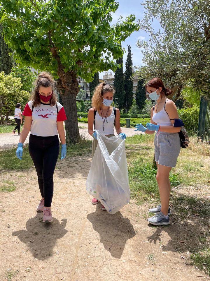 Από την δράση ανακύκλωσης