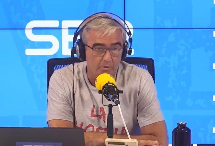 Carles Francino, en su vuelta a la radio