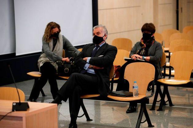 El extesorero del PP Luis Bárcenas, el pasado 8 de febrero en la Audiencia