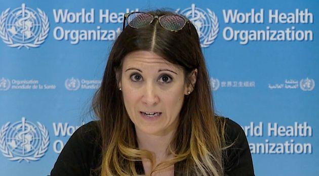 Maria Van Kerkhove, lors d'une conférence de presse de l'OMS, a annoncé que le variant indien était considéré...