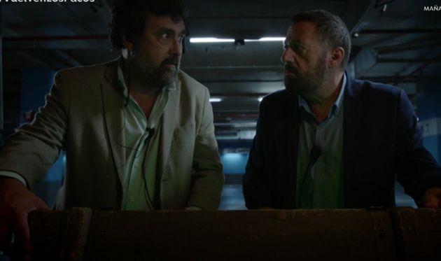 Paco Tous y Pepón Nieto en una escena del regreso de 'Los hombres de