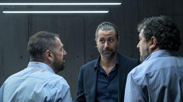 Paco Tous, Pepón Nieto y Hugo Silva en el regreso de 'Los hombres de