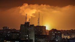 Al menos 20 palestinos muertos, incluidos nueve niños, en bombardeos israelíes sobre