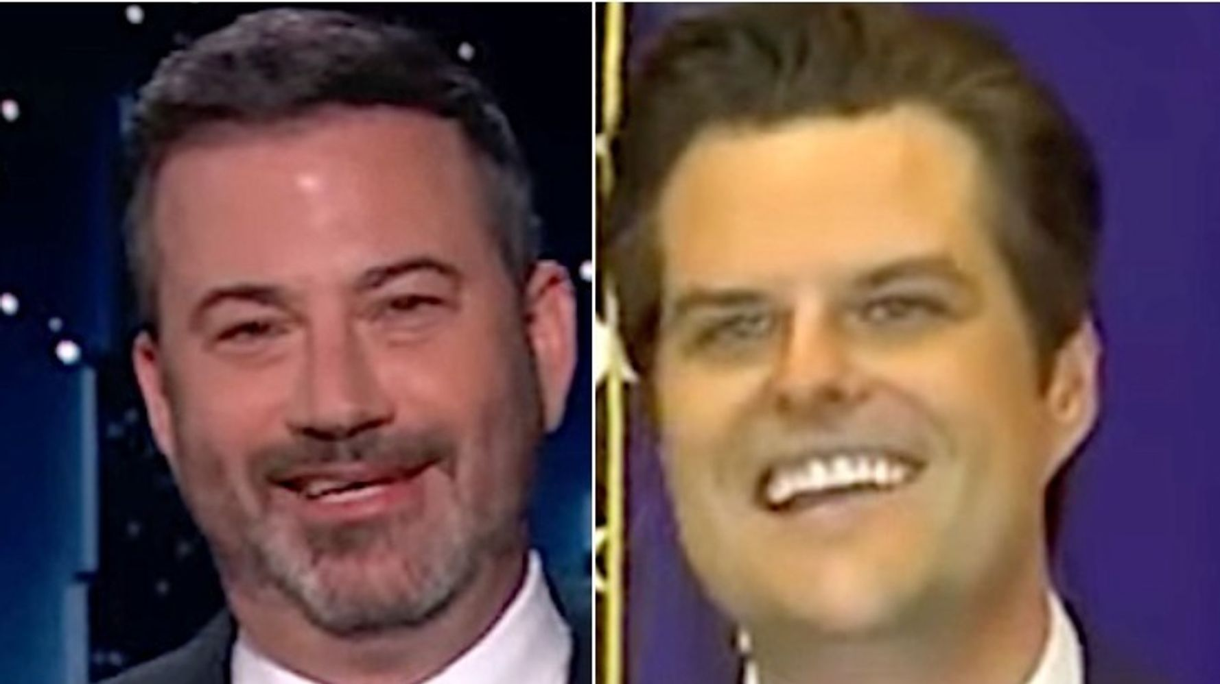 Jimmy Kimmel Spots The Saddest Part Of Matt Gaetz's 39th Birthday Party
