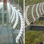 Κίνα: Τουρίστας βρέθηκε στο κενό όταν κατέρρευσε το γυάλινο δάπεδο