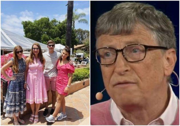 빌 게이츠 장녀 제니퍼 게이츠가 아버지만 빠진 가족사진을 SNS에 올렸다. 빌 게이츠와 멀린다 게이츠 이혼 발표 후 처음 올린