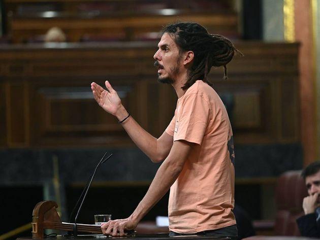 El secretario de Organización y diputado de Unidas Podemos Alberto
