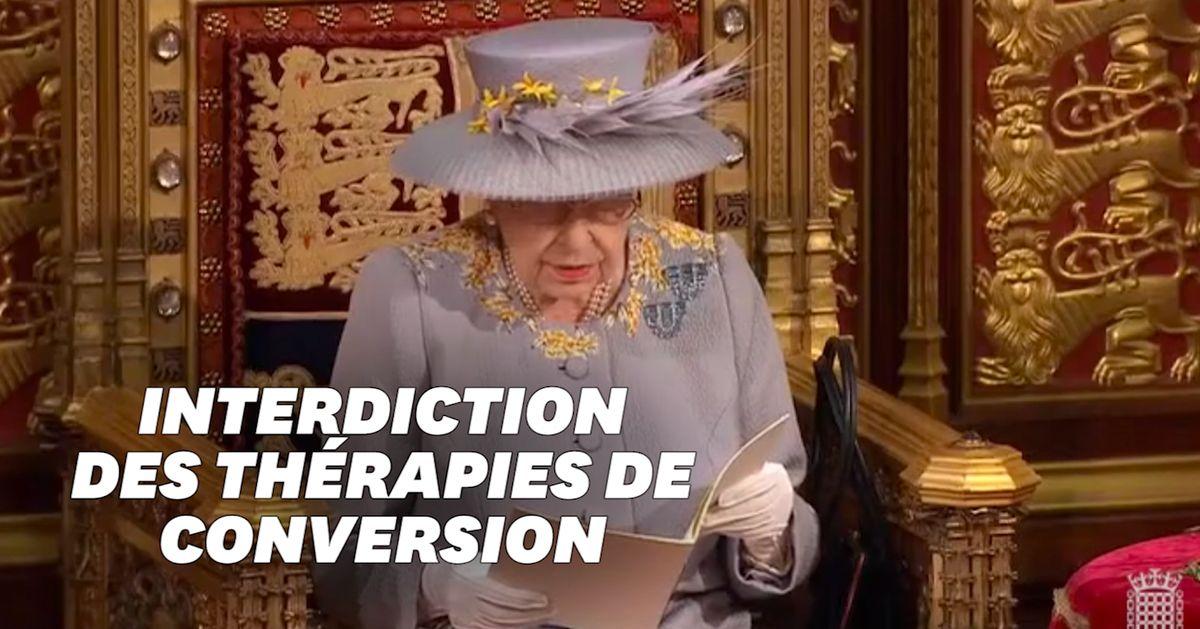 La Reine Elizabeth annonce que les thérapies de conversion vont être interdites