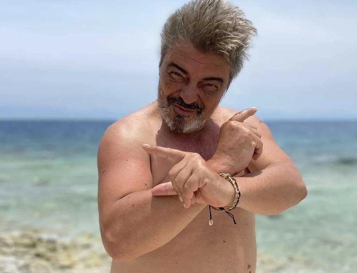 Antonio Canales en una imagen del comienzo de 'Supervivientes 2021'.