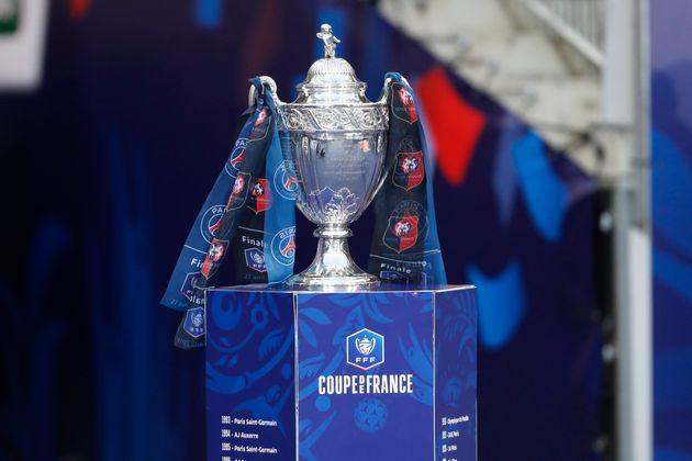 Image d'illustration: le trophée de la Coupe de France 2019, remporté par le Stade Rennais...