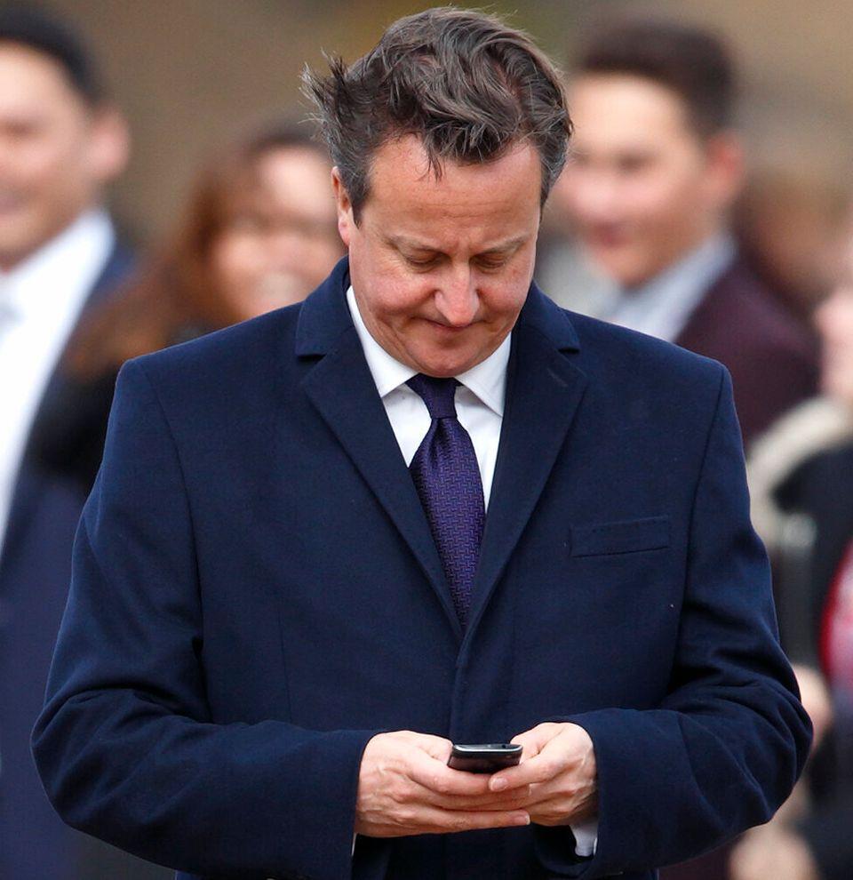 David Cameron's Most Cringeworthy Greensill Lobbying Texts Laid