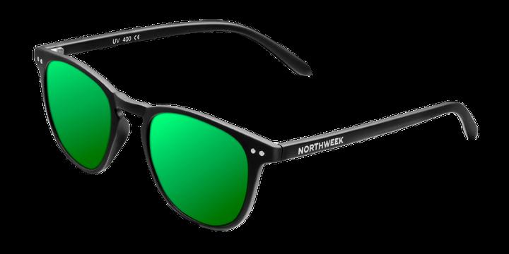 Gafas de cristal verde
