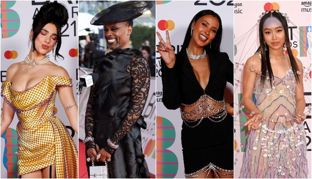 Brit Awards 2021 Red Carpet: See All The Looks From The Stars At This Year's Ceremony