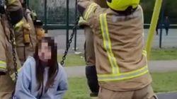 Fire Crews Warn TikTok Teens – Stop Getting Stuck In Toddler